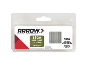 "Arrow Fastener 1-1/4"" Steel Brad BN1820CS"