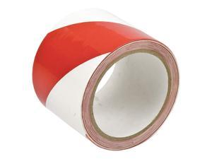 "Red/White Safety Warning Tape, Brady, 552973""W"