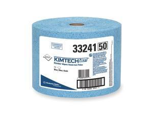 KIMBERLY-CLARK Kimtech Prep Kimtex Towel Roll, Box, Blue 33241