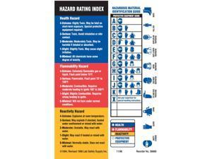 BRADY HMIG Label, 5-7/8 In. H, Paper, PK100 60329