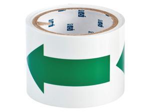 BRADY 90974 Marking Tape, Roll, 3In W, 15 ft. L
