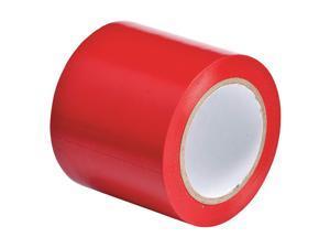 BRADY 102836 Aisle Marking Tape, Roll, 4In W, 108 ft. L