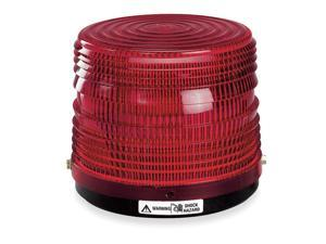 FEDERAL SIGNAL Warning Light, Strobe Tube, Red, 120VAC 141ST-120R