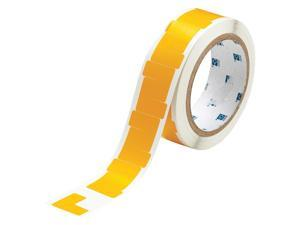 BRADY Marking Tape, L, 1In W, 1In L, PK750 121415