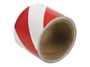 "Red/White Reflective Marking Tape, Brady, 763133""W"