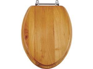 SIM Supply, Inc. Oak Elong Toilet Seat 10-007