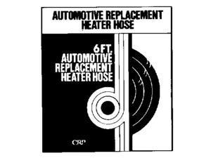 "H B D Industries Inc. 1/2""x6' Black Heater Hose 120"