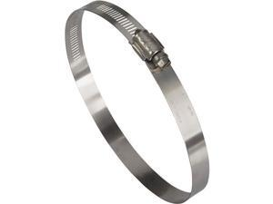 """Ideal Corp. 4"""" - 6"""" Stainless Steel Clamp 6388053 Pack of 10"""