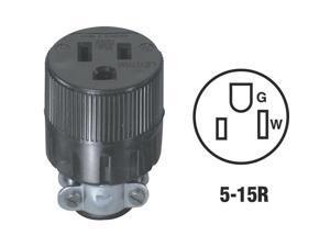 Leviton Black Cord Connector C20-00617-00E