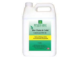 RENEWABLE LUBRICANTS 83053 Chain & Cable Lubricant, 1 Gal