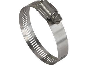 """Ideal Corp. 1-3/4"""" - 2-3/4"""" Stainless Steel Clamp 6336053 Pack of 10"""