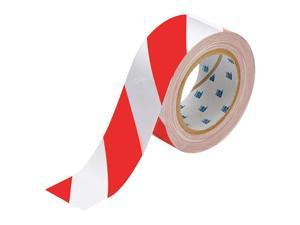"BRADY Floor Marking Tape,  Striped,  Roll,  2"" x 100 ft.,  1 EA 104318"