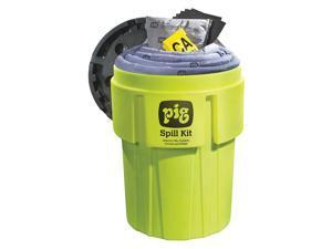 NEW PIG Hi-Vis Spill Kit, Drum, 60 gal. KIT262