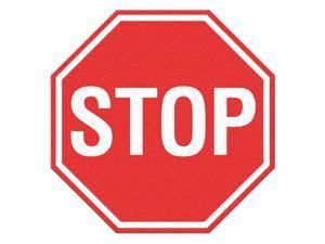 INCOM MANUFACTURING Safety Floor Sign, Stop FS1031V