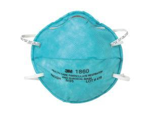 3M 1860 N95 PARTICULATE RESPIRATOR AND SURGICAL MASK/BIRD FLU 20 PER BOX