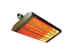 Electric Infrared Heater,  Indoor/Outdoor,  Bracket,  Voltage 240,  Watts 4800