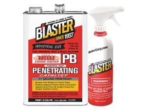 BLASTER 1 gal. Can Heavy Duty Solvent,  Clear 128-PB w/Sprayer