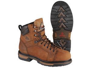 ROCKY Work Boots,  Size 8,  Toe Type: Steel,  PR 6701 8 MED