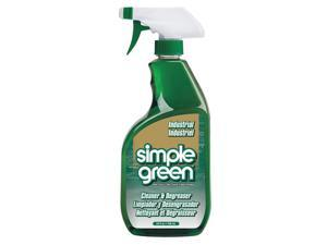 SIMPLE GREEN Non-Solvent Cleaner/Degreaser,  24 oz. Spray Bottle 2710001213012