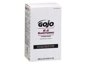 GOJO Sanitizing Liquid Soap Refill,  2000 mL Bag In Box,  4 PK 7280-04