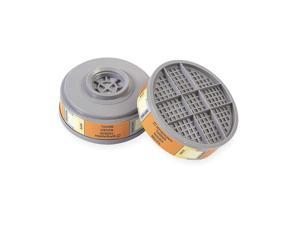 HONEYWELL Combination Cartridge, Orange, PK6 100600-H5