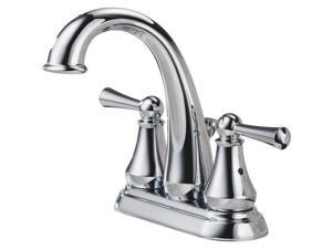 Delta Faucet Two Handle Chrome Lavatory Faucet with Popup 25901LF
