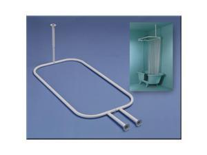 Zenith Prod. White Hoop Shower Rod 34941WW