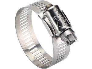 """Ideal Corp. 11/16"""" - 1-1/2"""" Stainless Steel Clamp 6316053 Pack of 10"""