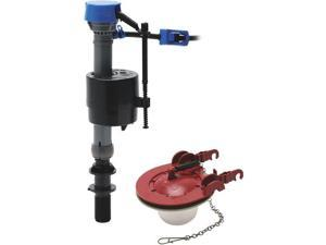 "3"" Performax Toilet Fill Valve And Flapper Kit Fluidmaster Inc Toilet Repair"