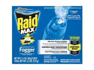 Johnson S C Inc 3 Pack Raid Max Fogger 12565