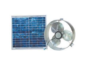 Ventamatic CXSOLGB Solar Powered Gable Mount Attic Vent