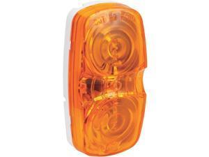 Peterson Mfg. Amber Rectangular 2 Bulb Clearance Marker Light  V138A