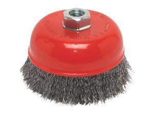 "Forney Industries 5"" Crimped Cup Brush 72754"