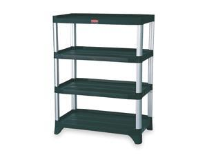 RUBBERMAID Shelving Unit FG9T3600BLA