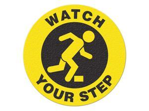 INCOM MANUFACTURING Safety Floor Sign, Watch Your Step FS1034V