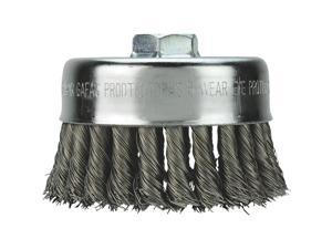 "Milwaukee 4"" Knot Wire Cup Brush 48-52-1350"