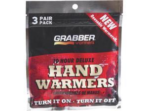 Grabber Performance Large 3 Pack Hand Warmer HWLRS3 Pack of 12