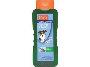Hartz Mountain 18oz Dog Flea Shampoo 91858