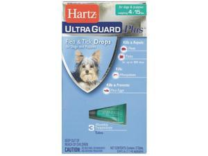 Hartz Mountain 4-15lb Hug Pls F&t Drps 98206