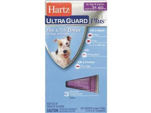 Hartz Mountain 31-60lb Hug Pls F&t Drps 10872