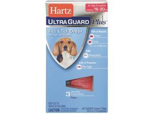 Hartz Mountain 16-30lb Hug Pls F&t Drps 98207