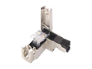 Connector, RJ45/90 Degree, 24AWG