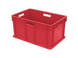 AKRO-MILS 37682RED Container, 23-3/4 In. L, 15-3/4 In. W, Red
