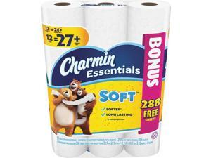Procter and Gamble 12dbl Charmin Ess Tissue 96604 Pack of 4