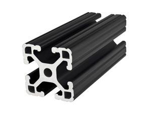 80/20 1515-LITE-BLACK-145 Framing Extrusion,T-Slotted,15 Series G0471670