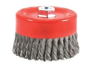 "Forney Industries 6"" Knotted Cup Brush 72756"