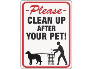 Hyko Prod. Clean Up After Pet Sign 20617 Pack of 10