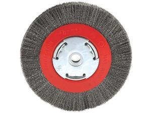 "Forney Industries 6"" Crimped Bench Wheel 72751"
