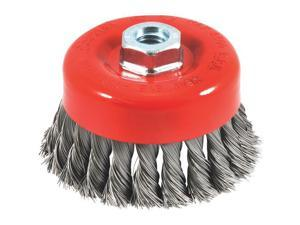 "Forney Industries 4"" Knotted Cup Brush 72753"