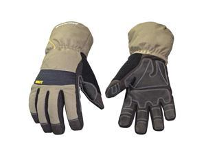 Youngstown Glove Co. Cold Protection Gloves L Black/Green   11-3460-60-L